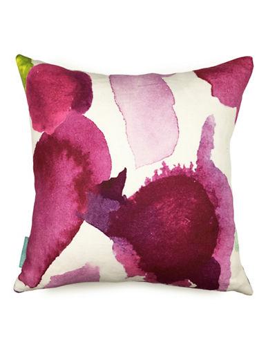 Bluebellgray Abstract Linen Cushion-MULTI-COLOURED-18x18