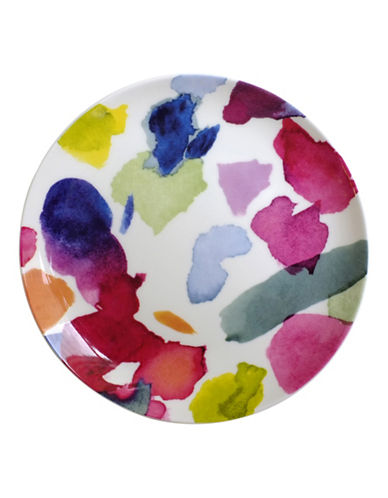 Bluebellgray Set of Four Abstract Dinner Plates-ABSTRACT-One Size