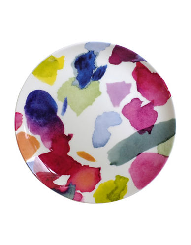 Bluebellgray Set of Four Abstract Side Plates-MULTI-COLOURED-One Size