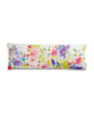 Bluebellgray Watercolour Print Bolster-MULTI-One Size