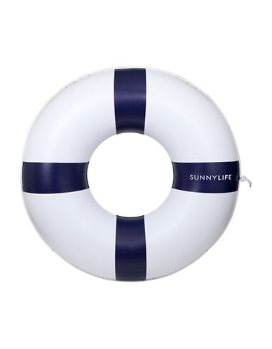 Sunnylife Inflatable Life Ring-WHITE-One Size