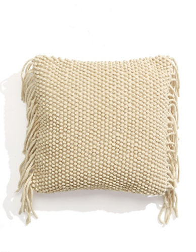 Distinctly Home Lindsay Fringe Accent Cushion-MULTI-One Size