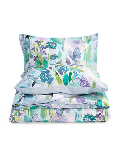 Bluebellgray Nouvelle 235 Thread-Count Three-Piece Duvet Cover Set-MULTI-Queen
