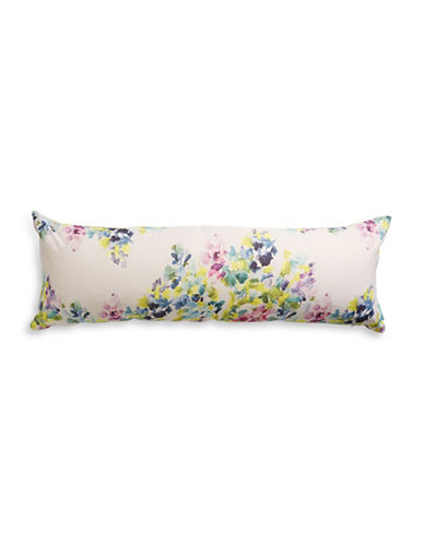 Bluebellgray Catrin Linen Bolster Cushion-MULTI-One Size