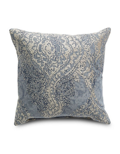 Distinctly Home Kira Sedona Linen Cushion-BLUE-One Size