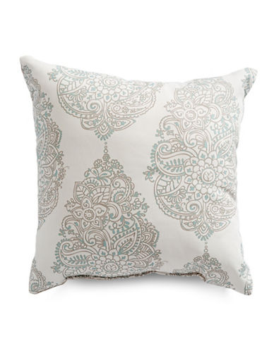 Distinctly Home Yorkshire Square Cushion-GREY-18x18