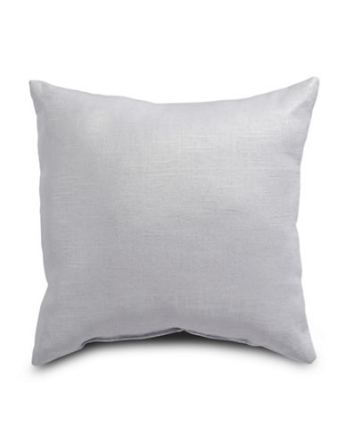 Distinctly Home Kira Lustro Linen-Cotton Cushion-SILVER-One Size