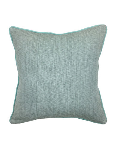 Aura Neka Woven Decorative Cushion-GREEN-18x18