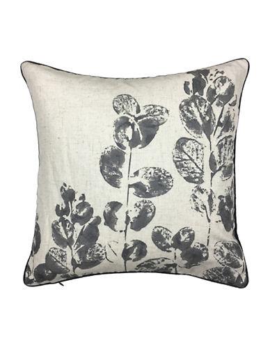 Aura Jana Decorative Cushion-GREY-18x18