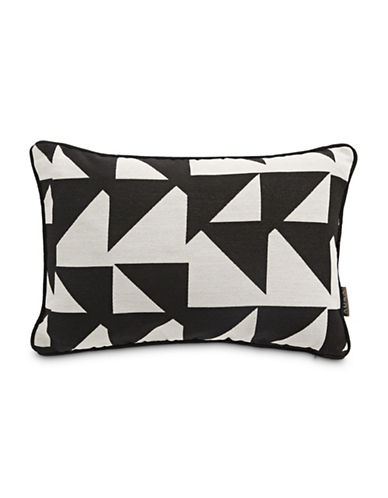 Aura Karstern Rectangle Decorative Cushion-BLACK-14