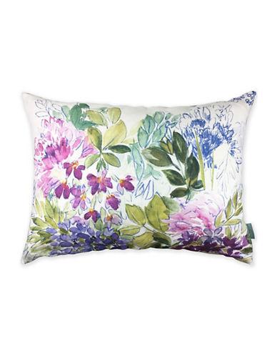 Bluebellgray Signature Reversible Cotton Pillow-MULTI-12x20