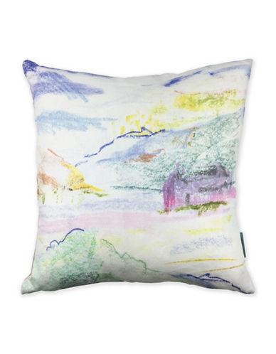 Bluebellgray Monachyle Decorative Linen Cushion-MULTI-18x18