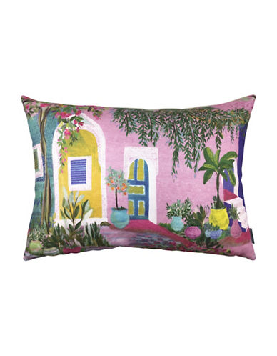 Bluebellgray Marrakesh Decorative Linen Cushion-MULTI-18