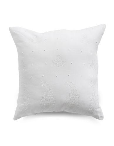 Distinctly Home Alise Decorative Cushion-WHITE-18x18
