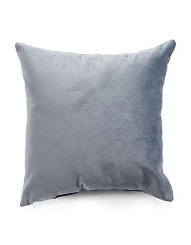Distinctly Home Velvet Decorative Cushion-GREY-18x18
