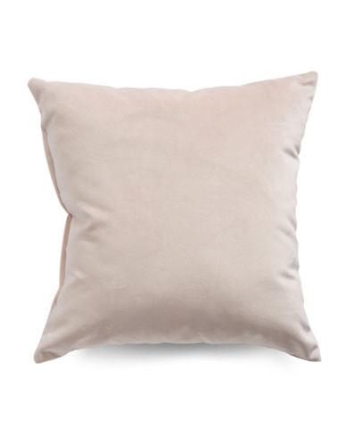Distinctly Home Velvet Decorative Cushion-PINK-18x18