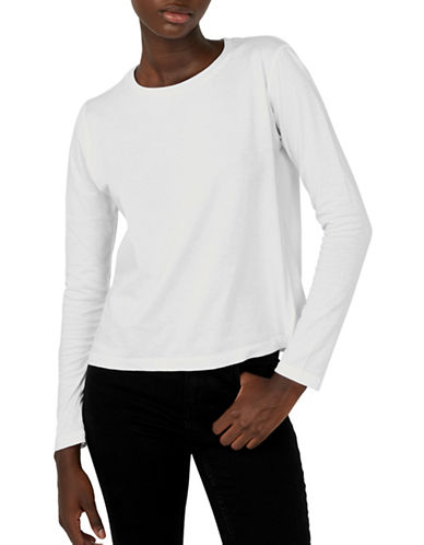 Kotn Easy Long-Sleeve Top-WHITE-X-Small 90004087_WHITE_X-Small