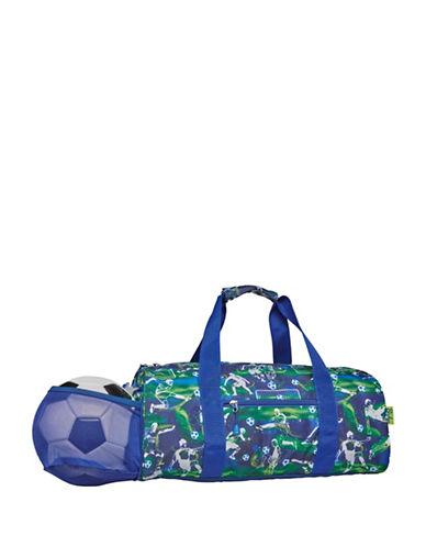 Bixbee Soccer Star Large Duffle Bag-BLUE-Large