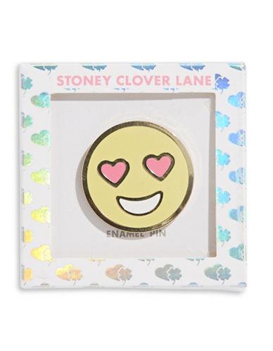 Stoney Clover Lane Heart-Eye Pin-MULTI-One Size