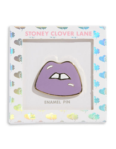 Stoney Clover Lane Lips Pin-MULTI-One Size