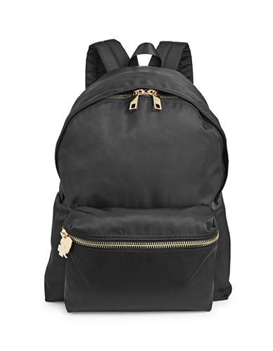 Stoney Clover Lane Two-Way Zip Backpack-BLACK-One Size