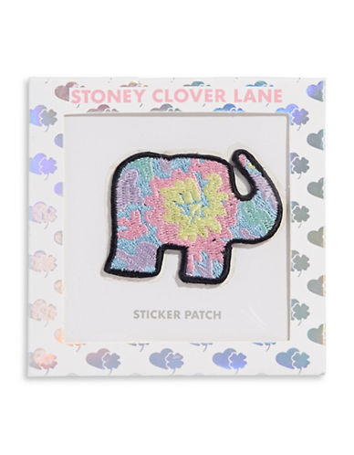 Stoney Clover Lane Elephant Sticker Patch-MULTI-One Size