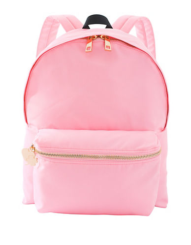 Stoney Clover Lane Charm Backpack-PINK-One Size