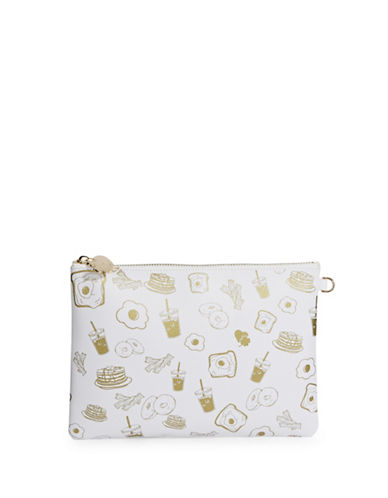 Stoney Clover Lane Brunch Leather Pouch-MULTI-One Size