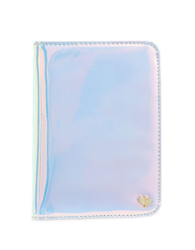 Stoney Clover Lane Iridescent Passport Holder-IRIDESCENT-One Size