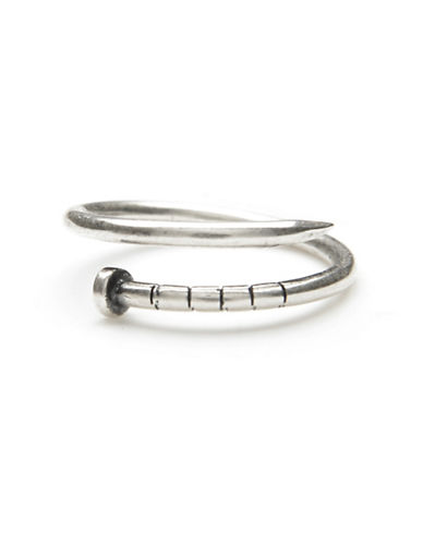 Degs And Sal Sterling Silver Nail Ring-SILVER-One Size