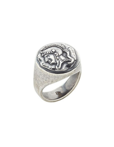 Degs And Sal Spartan Sterling Silver Ring-SILVER-11