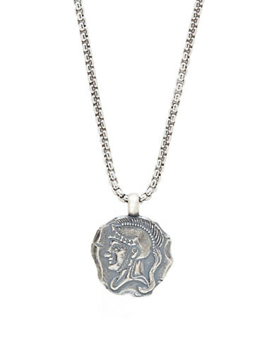 Degs And Sal Spartan Sterling Silver Pendant Necklace-SILVER-One Size