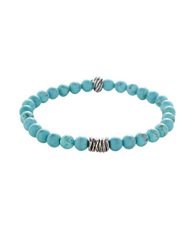 Degs And Sal 6MM Turquoise Washer Bracelet-TURQUOISE-One Size