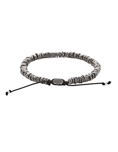 Degs And Sal Sterling Silver Adjustable Washer Bracelet-SILVER-One Size