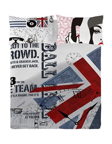 Gouchee Design Three-Piece England Queen Duvet Cover Set-MULTI-Queen