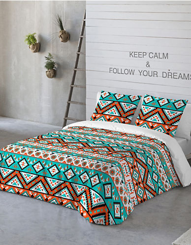 Gouchee Design Three-Piece Geometric Queen Duvet Cover Set-MULTI-Queen