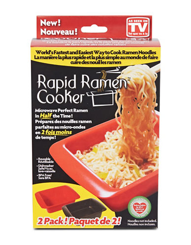 As Seen On Tv Two-Pack Rapid Ramen Cookers-NO COLOUR-One Size