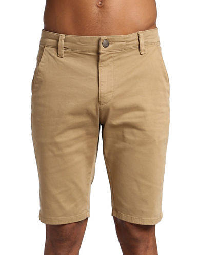 Mavi Jacob Shorts-BROWN-34