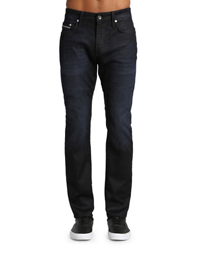 Mavi Jake Slim Leg Jeans-DARK BLUE-30X32