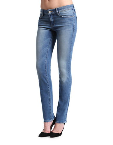 Mavi Kerry Mid Rise Straight Leg Jeans-LIGHT NOLITA-28