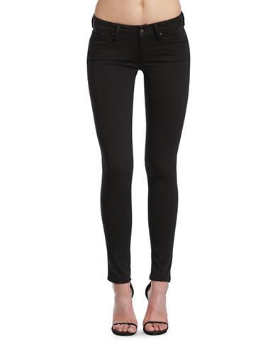 Mavi Serena Low Rise Skinny Jeans-JET BLACK-29