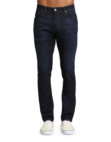 Mavi Jake Regular Rise Slim Leg Jeans-DARK BLUE-29X32
