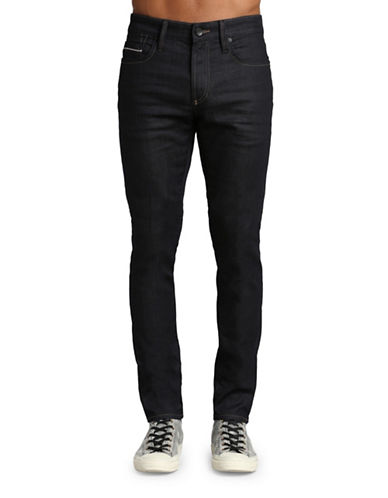 Mavi James Skinny Leg Pants-DARK BLUE-36X32