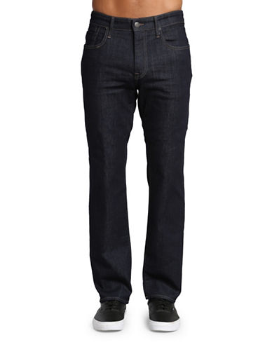 Mavi Zach Straight Leg Pants-DARK BLUE-34X32