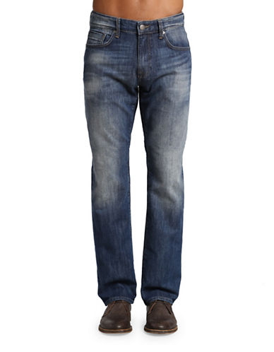 Mavi Zach Straight Leg Jeans-BLUE-38X32