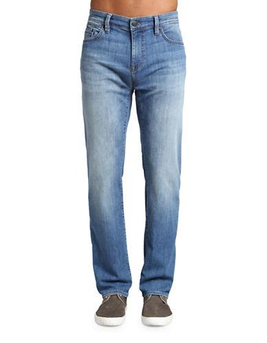 Mavi Zach Straight Leg Classic-Fit Jeans-BLUE-31X34