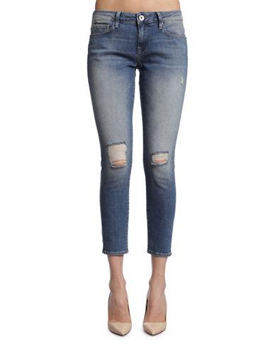 Mavi Alexa Ankle Mid Rise Skinny-USED RIPPED VINTAGE-30