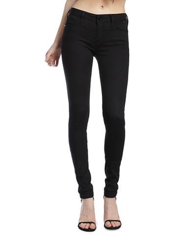 Mavi Adriana Mid Rise Super Skinny Jeans-DOUBLE BLACK GOLD REFORM-25