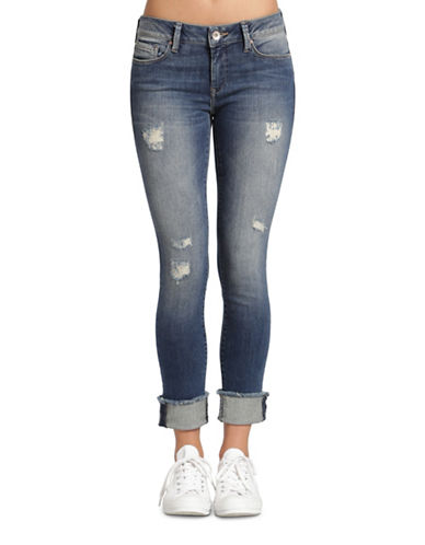 Mavi Erica Cuffed Ankle Jeans-RIPPED VINTAGE-25
