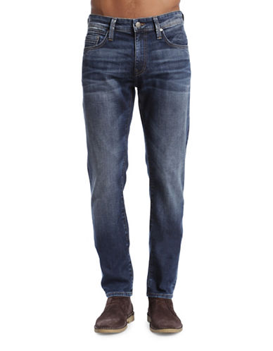 Mavi Jake Slim Leg Jeans-DARK BLUE-34X32